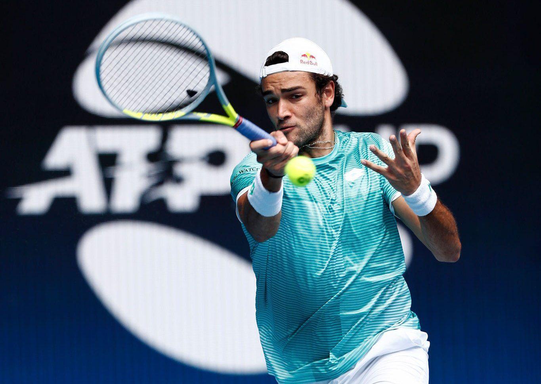 Matteo Berrettini all'ATP Cup 2021