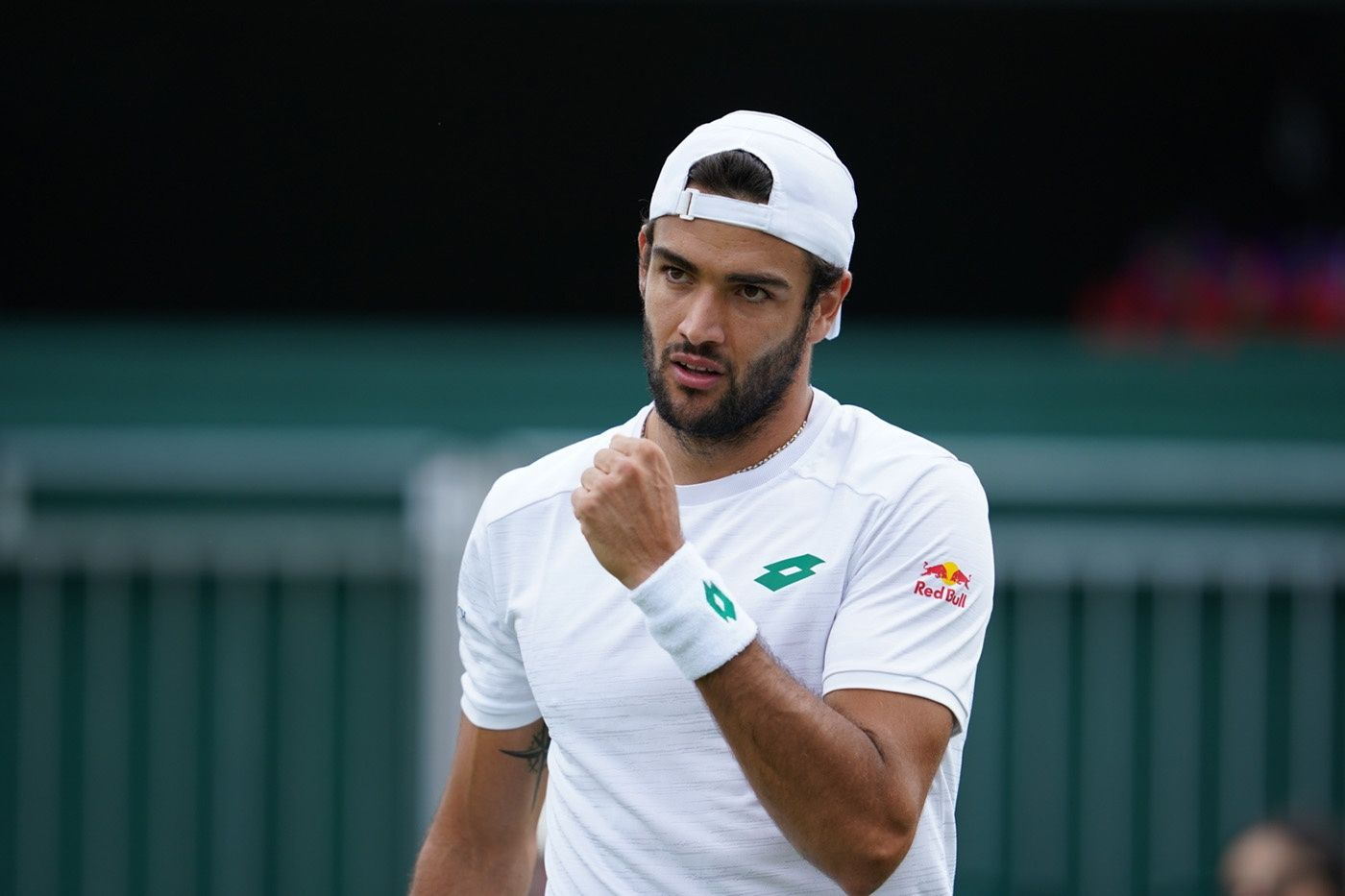 Matteo Berrettini, in semifinale a Wimbledon