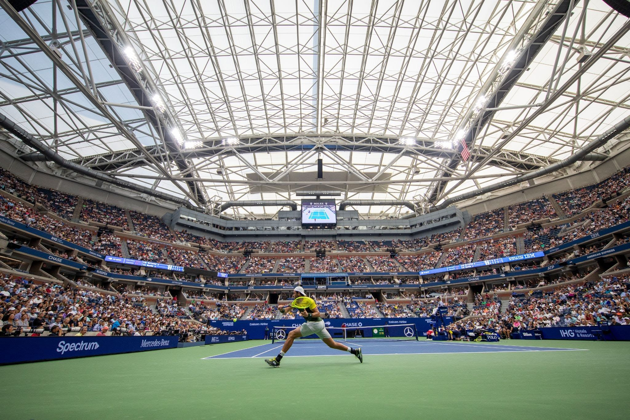 Us Open: L'evento trasmesso da Eurosport. Arriva la novità LIVENow