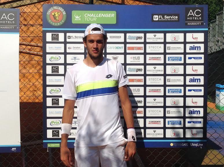Matteo Berrettini classe 1996, n.255 ATP