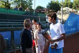 Matteo Berrettini ha vinto lo scorso anno il torneo di Salsomaggiore
