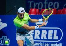 ATP Budapest: Matteo Berrettini batte Attila Balazs e centra il secondo turno