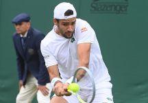 Wimbledon: Berrettini granitico, domina Bedene in tre set e vola agli ottavi
