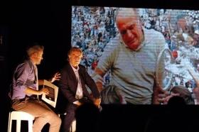 Paolo Bertolucci protagonista e ospite d'onore al Palaiseo durante la serata Sport Live Club