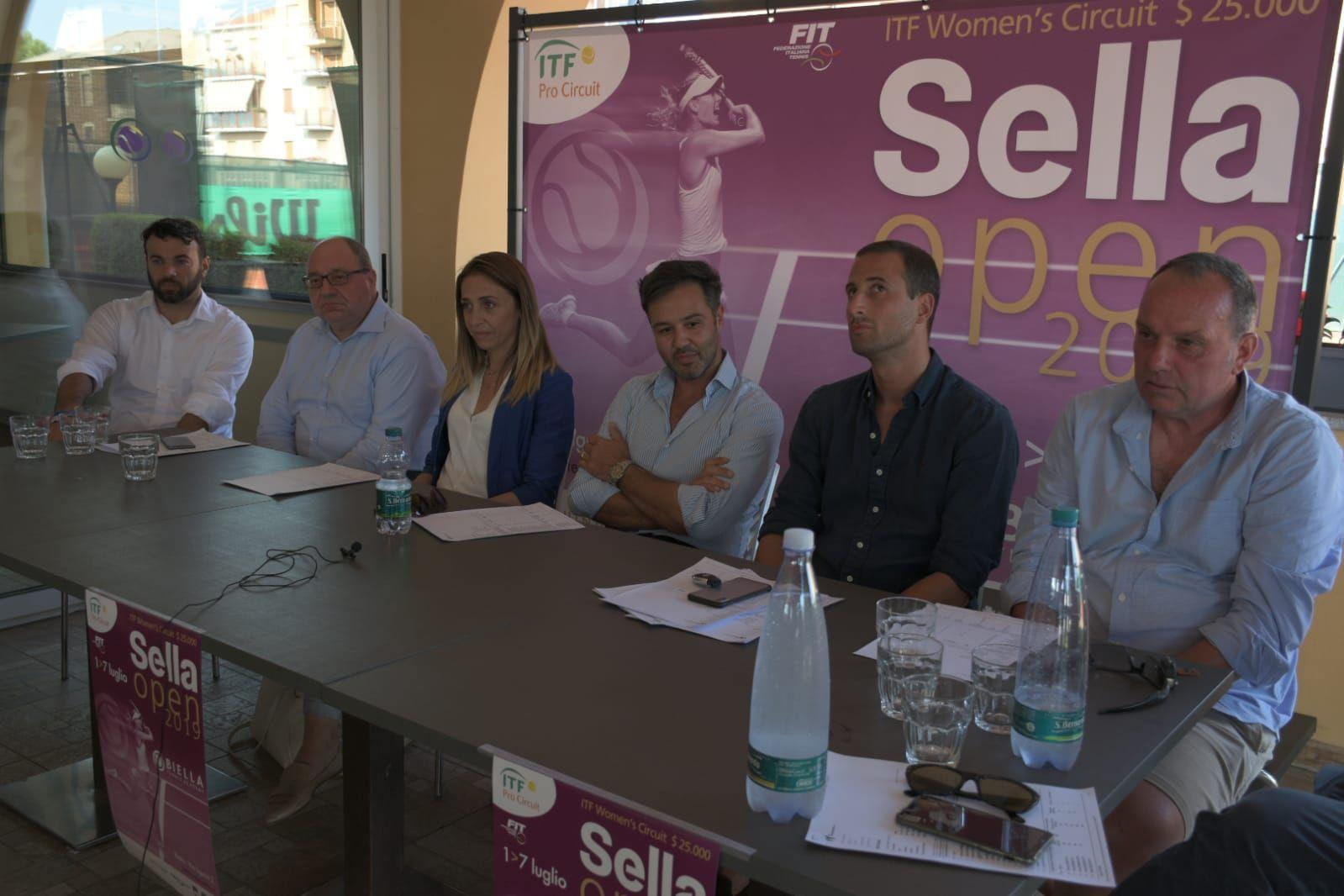 Conferenza stampa di presentazione del torneo ITC W25 di Biella