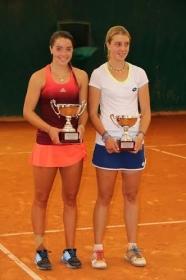 Nella foto Federica Bilardo e la vincitrice Jodie Ann Burrage