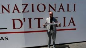 Angelo Binaghi è il Presidente della FIT
