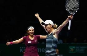 Cara Black e Sania Mirza vincitrici al Masters WTA di Singapore