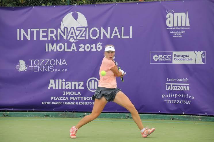 Anna Blinkova nella foto