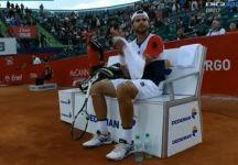 ATP Bucharest: Simone Bolelli esce di scena nei quarti di finale per mano di Monfils. L'azzurro nel secondo set ha mancato due palle set