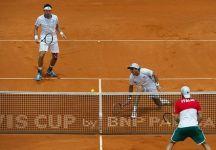 Davis Cup: Argentina vs Italia 1-2. Amara sconfitta nel doppio. Fognini-Bolelli mancano un match point e perdono per 9-7 al tiebreak del quinto set da L. Mayer-Berlocq