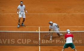 Davis Cup: Argentina vs Italia 1-2. Amara sconfitta nel doppio