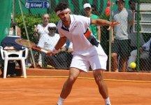 Challenger Braunschweig: Perde in maniera netta in semifinale Simone Bolelli