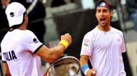 Fabio Fognini e Simone Bolelli entrati nella storia del tennis italiano dopo il successo a Melbourne