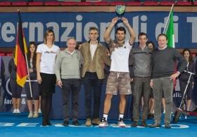 Simone Bolelli classe 1985, n.321 ATP - Foto Antonio Milesi
