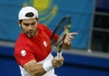 Coppa Davis: Kazakistan vs Italia 1 a 0. Mikhail Kukushkin travolge Simone Bolelli