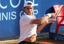 Challenger Genova: Trusendi fa suo il derby contro Crugnola. Fabbiano e Bolelli si sfideranno ai quarti. Thomas vince in rimonta. Simone lotta solo per un set