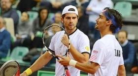 Fabio Fognini e Simone Bolelli vincitori la scorsa settimana a Buenos Aires in doppio