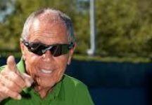 """Nick Bollettieri: Martedì 5 maggio il """"coach dei campioni"""", oltre che a Torino, sarà a Bra e Saluzzo per presentare il suo libro e incontrare gli appassionati di tennis"""