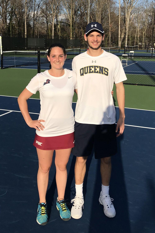 I fratelli veronesi Paolo ed Elena Bompieri, rispettivamente classe 1997 e 1998, studiano entrambi al college negli Stati Uniti