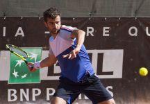 Challenger Trieste: Prima finale challenger in carriera per Riccardo Bonadio. Lorenzo Musetti avanti nel terzo set per 3 a 1 subisce un parziale di cinque game consecutivi (Video)