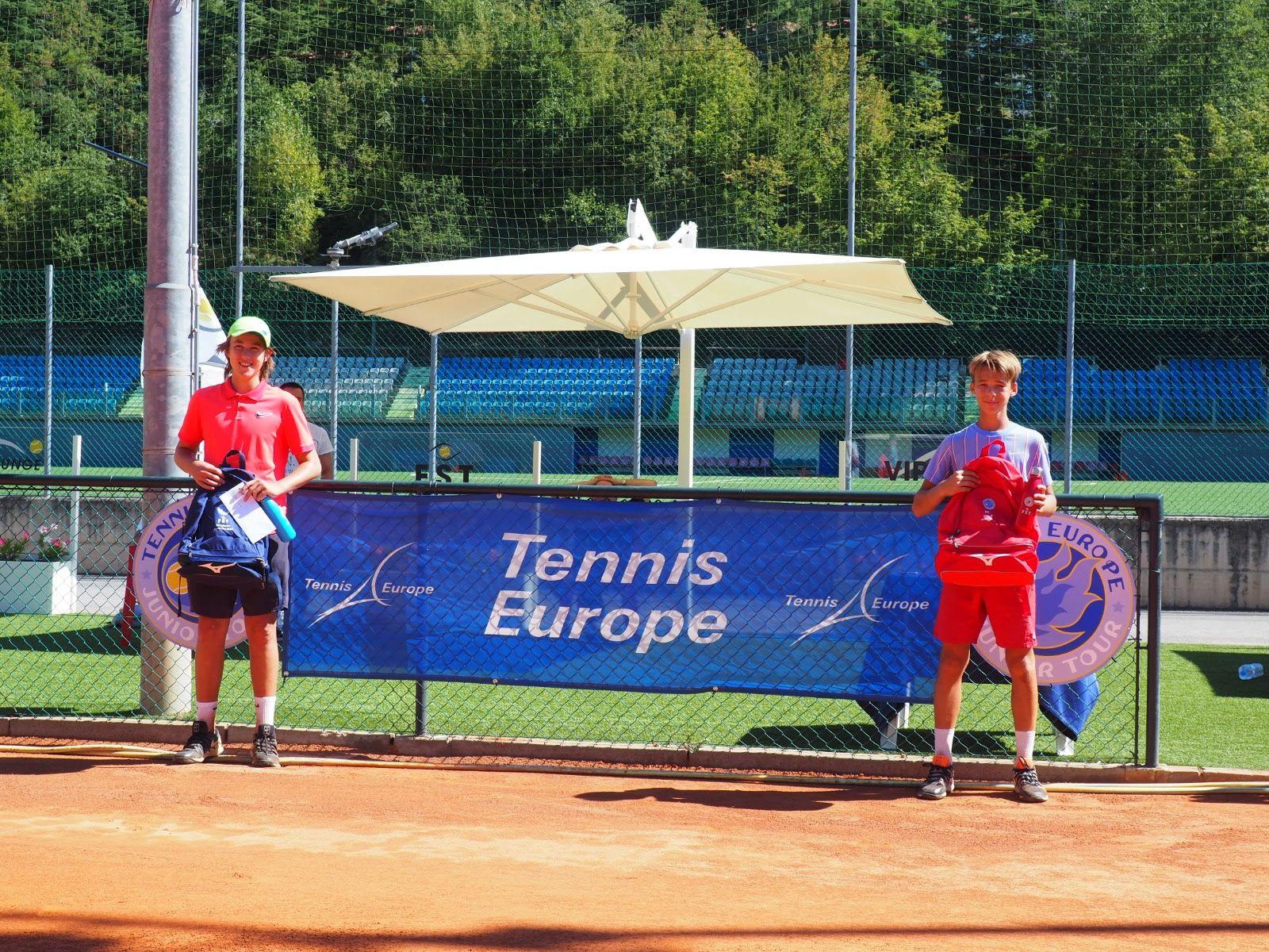 San Marino Junior Cup Under 14: Oliver Boding trionfa nel singolare maschile