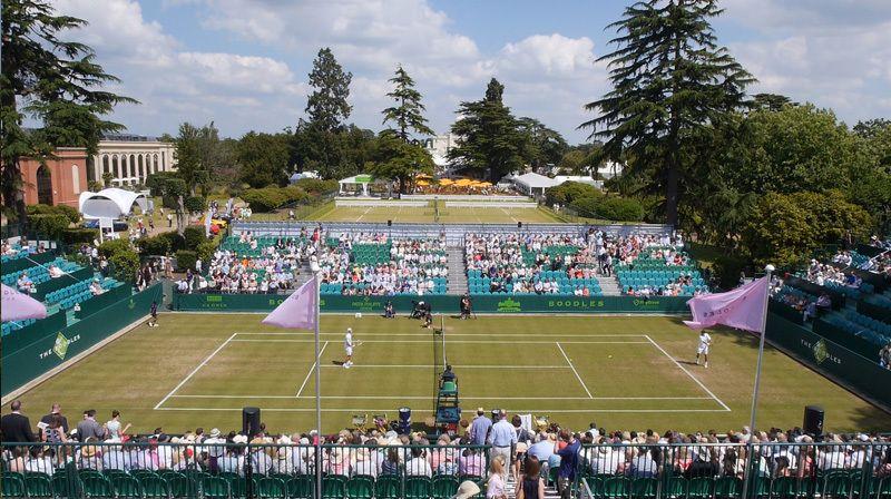 The Boodles, affascinante esibizione prima di Wimbledon
