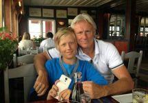 """Bjorn Borg """"lancia"""" suo figlio Leo: """"A 13 anni non ero come mio figlio, lui gioca meglio di quanto facevo io alla sua età. Il tennis di oggi è molto diverso da quello a cui ero abituato"""""""