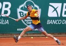 Leo Borg vince la Brasil Junior Cup