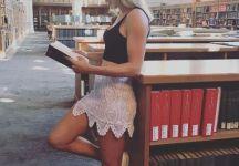Eugenie Bouchard studentessa a Yale per un giorno