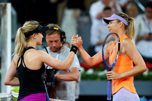 Da Madrid: Parlano Eugenie Bouchard e Maria Sharapova