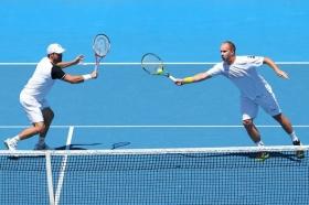 Daniele Bracciali all'Australian Open ha fatto coppia con Lukas Dlouhy