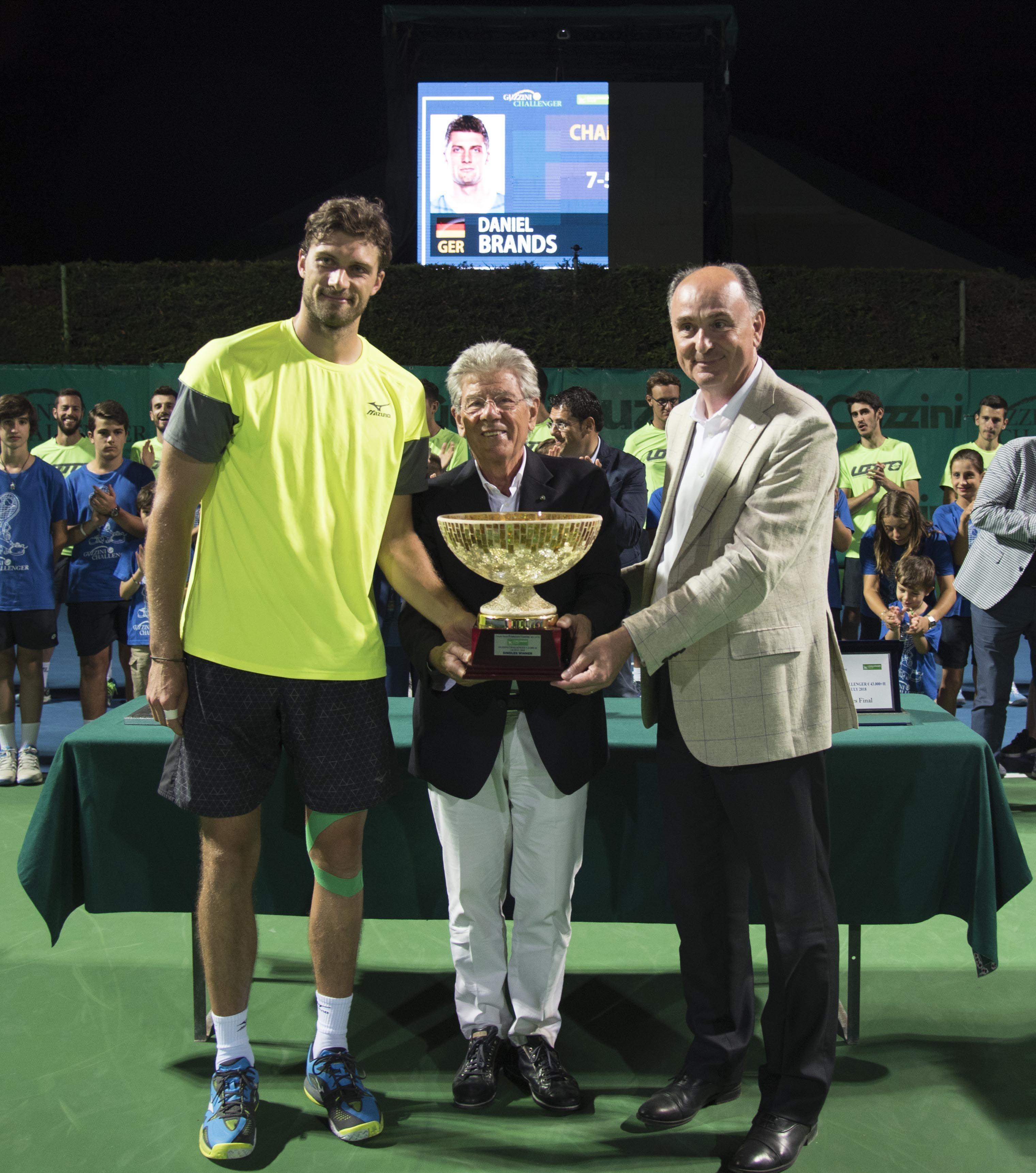 Daniel Brands ha vinto il torneo di Recanati