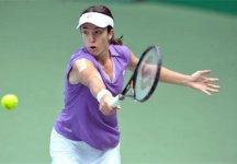 WTA Baku: Alberta Brianti avanti di un set e di un break, crolla al terzo set contro la Puchkova