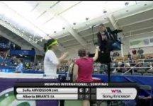 Video del Giorno: La semifinale di Alberta Brianti a Memphis