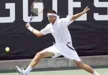 ATP Newport: Qualificazioni. Andrea Agazzi spreca troppo nel primo set e si arrende per 7-6 al terzo all'americano Britton