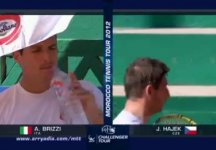 Challenger Meknes: Niente da fare per Alberto Brizzi contro Jan Hajek (Video)