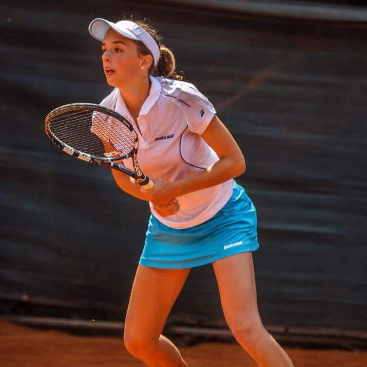 Lucia Bronzetti classe 1998 e n.587 WTA