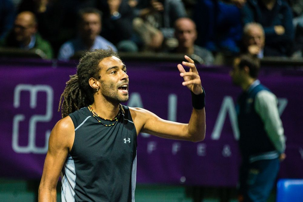 Dustin Brown nella foto - Foto Antonio Milesi