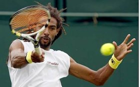 Dustin Brown, classe 1984, n.102 del ranking mondiale.