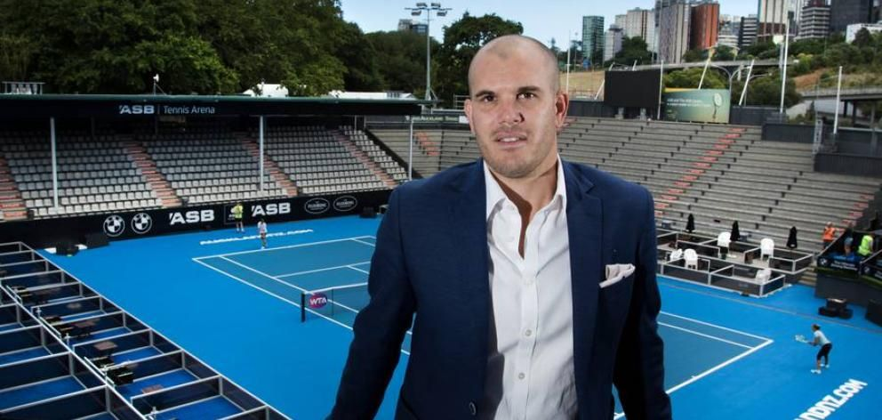 <strong>Karl Budge,</strong> direttore del torneo di Auckland