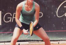 """Francesca Bullani: """"Sto cercando l'alchimia giusta per realizzare i miei sogni di bambina."""" La ventunenne di Biella ci racconta il suo tennis ma anche molto altro: dall'altruismo alla curiosità verso il mondo"""