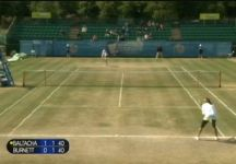 ITF Nottingham: Si ferma in semifinale Nastassja Burnett (Video)