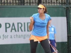 Nastassja Burnett  classe 1992, n.551 WTA