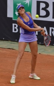 Nastassja Burnett  classe 1992, n.596 WTA