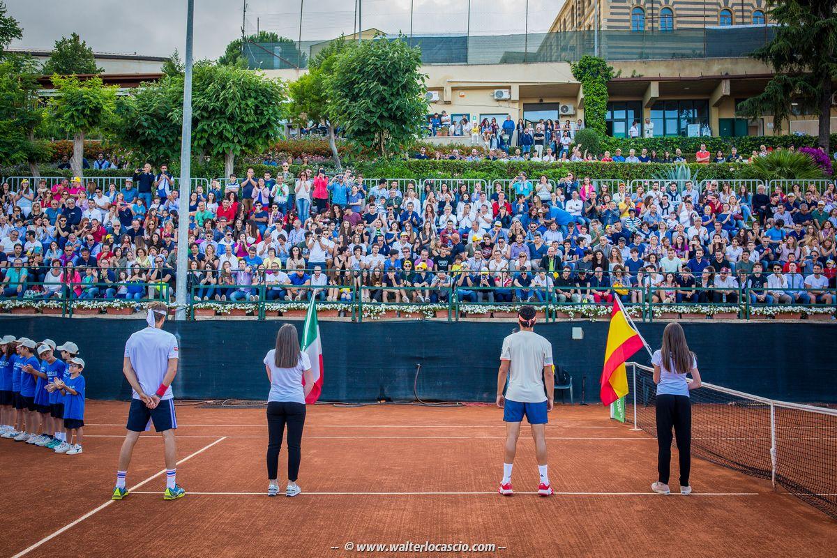 Foto dell'edizione 2018 del torneo di Caltanissetta