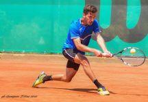 """Daniele Capecchi: """"non dimenticherò mai Giuseppe Malevolti, se gioco a tennis lo devo solamente a lui"""""""