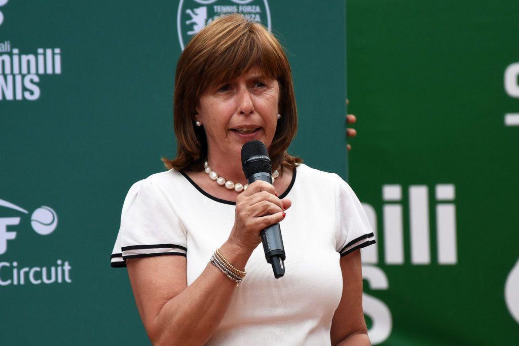 Anna Capuzzi Beltrami, presidente del Tennis Forza e Costanza 1991, ha illustrato gli obiettivi per la stagione 2020 (foto GAME)