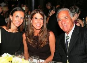 Jennifer Capriati con il padre Stefano e Iva Majoli