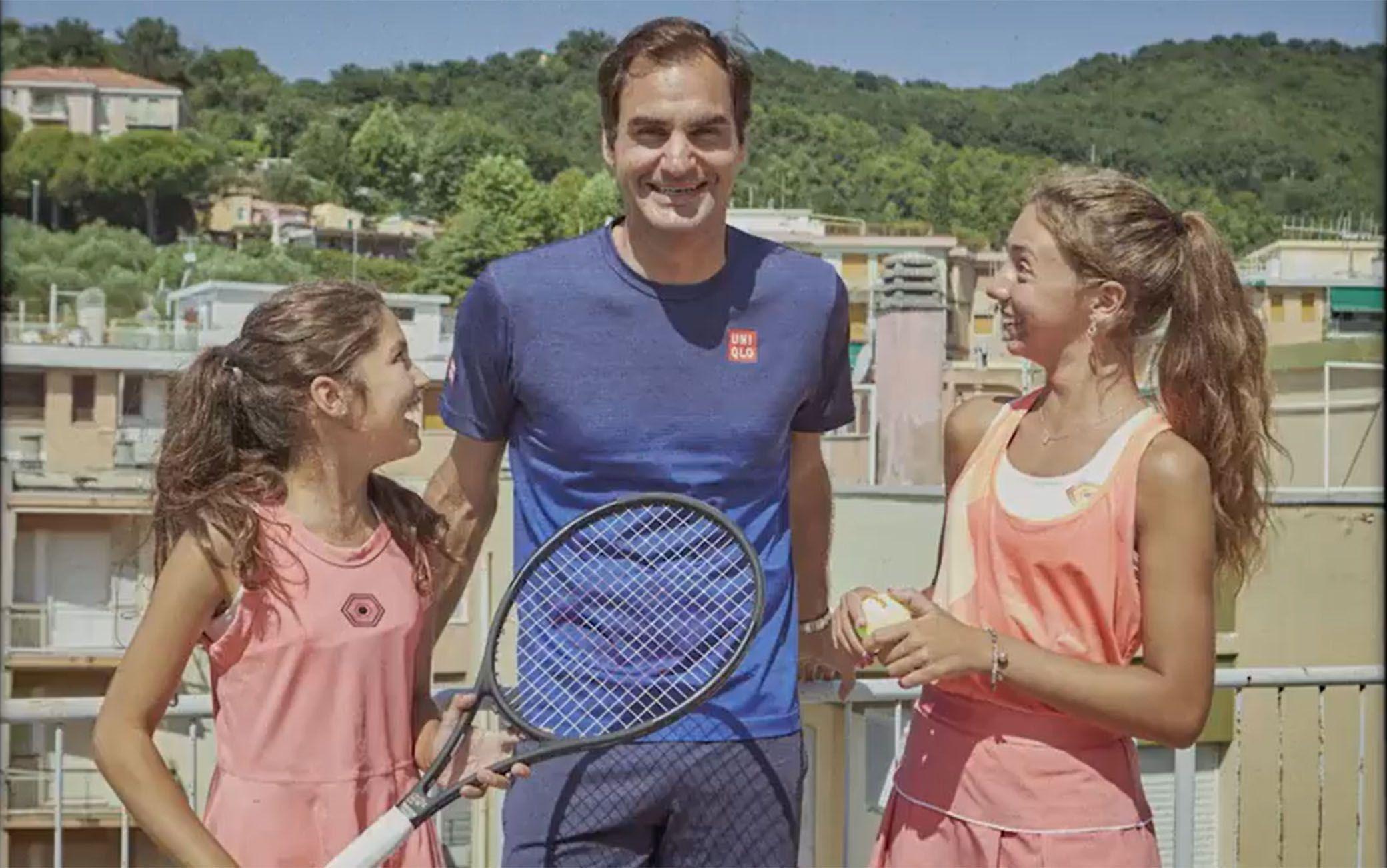 Carola e Vittoria insieme a Roger